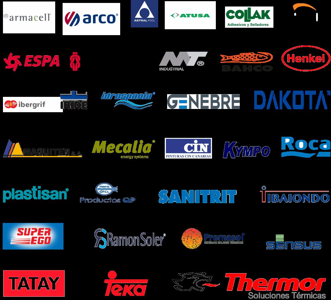 Logos de otras empresas suplidas